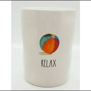 RAE DUNN Summer Candle Relax Coconut Breeze